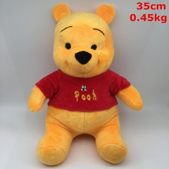 Winnie the Pooh Cosplay Cartoon For Gift Doll Anime Plush Toy