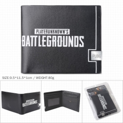 Playerunknown's Battlegrounds Game Cosplay PU Leather Wallet Bifold Short Coin Purse