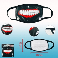 Tokyo Ghoul Cosplay Cartoon 2 Generation Dust Mask Anime Mask