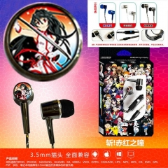 3 Colors Cheapest Akame ga Kill Date A Live Cosplay Cartoon 3.5mm Plug Anime Earphone