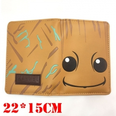 Marvel Comics Guardians of the Galaxy Movie Cosplay Anime Passport Book Card Bag Wallet