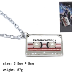 Guardians of the Galaxy Movie Cartoon Cosplay Decoration Alloy Pendant Anime Necklace