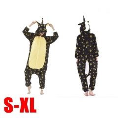Anime Unicorn Kigurumi Cosplay Costume Plush Couple Pajamas