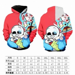 New Arrival Undertale 3D Print Movie Cosplay Hooded Hoodie Fashion Anime Thick Warm Hoodies