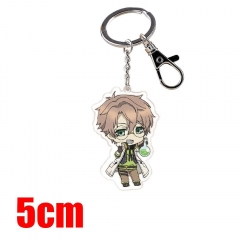 Code: Realize Guardian of Rebirth Cartoon Pendant Key Ring Transparent Anime Acrylic Keychain