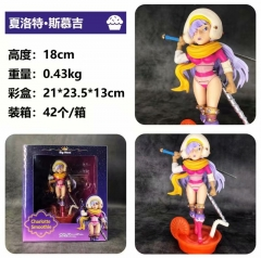 One Piece Charlotte Smoothie Character Cartoon Model Toys Statue Anime PVC Figure