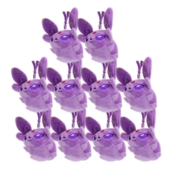 Pokemon Cosplay Cartoon Stuffed Doll New Design Anime Plush Toys Plush Pendant (10pcs/set)