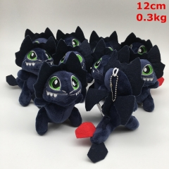 How to Train Your Dragon Toothless Cosplay Cartoon Lovely For Gift Doll Plush Toy Anime Plush Pendant (10pcs/set)