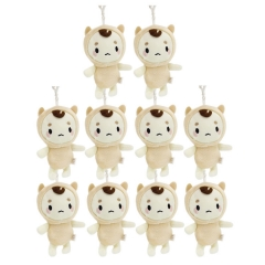 The Lonely and Great God Cosplay Cartoon Stuffed Doll New Design Anime Plush Toys Plush Pendant (10pcs/set)