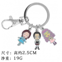 Nana3 Cosplay Cartoon Pendants Key Ring Anime Alloy Keychain