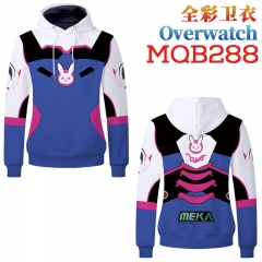 Cosplay Hot Game Overwatch Unisex Long Sleeves Hoodie Women Men Hooded