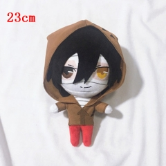 Hot Sales Angels of Death Q Version Print Plush Toy Stuffed Anime Cosplay Cool Style Doll