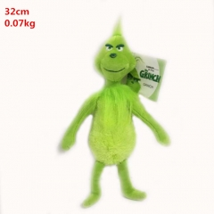 Cute Grinch Kawaii Plush Toy Cartoon Kids Doll