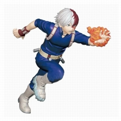 Boku no Hero Academia/My Hero Academia Todoroki Shoto 4 Generation Cosplay Cartoon Character Model Toy Anime Figure