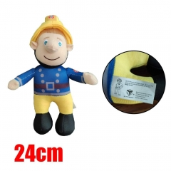Fireman Sam Anime Cute Doll Kids Stuffed Plush Toy