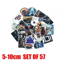 Ready Player One Movie Stickers 57pcs/Set