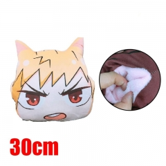 Boku No Hero Academia/My Hero Academia Hands Warmer Puppy Cartoon Plush Pillow