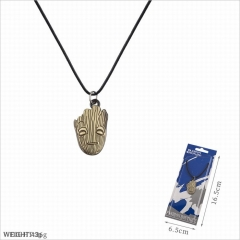 Guardians of the Galaxy Movie Groot Cosplay Cartoon Decoration Neck Pendant Alloy Anime Necklace