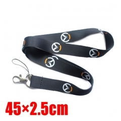 Overwatch Cartoon Long Style Lanyard Anime Phone Strap