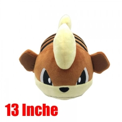 Pokemon Game Growlithe Plush Doll Cute Stuffed Toy
