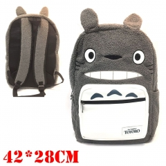 My Neighbor Totoro Cosplay Cartoon Student Anime Plush Backpack Bag