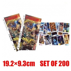 Game Overwatch Cartoon Designs Wholesale Anime Postcard 200Pcs Per Set