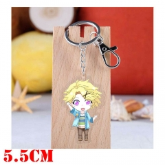 Mystic Messenger Yoosung Game Pendant Key Ring Transparent Anime Acrylic Keychain