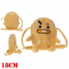 K-POP BTS Bulletproof Boy Scouts Cute For Kids Plush Backpack Bag