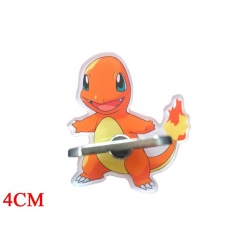 Pokemon Charmander Cartoon Cellphone Stand Wholesale Anime Acrylic Ring Phone Holder