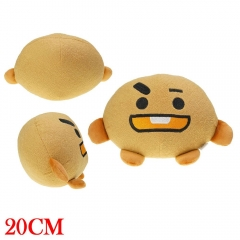 K-POP BTS Bulletproof Boy Cosplay Anime Plush Toy