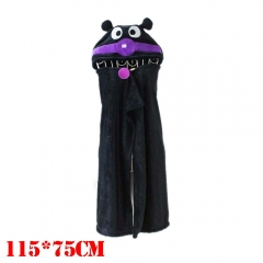 Anpanman Cartoon Cloak Black Cosplay Costume Anime Blanket