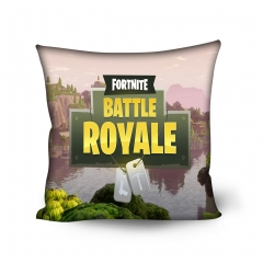 Fortnite Game Colorful Pillowcase Cotton Pillow Cover