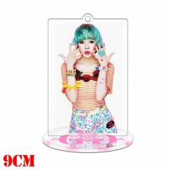 Korean Star Girls' Generation Anime Double Sided Acrylic Standing Decoration Keychain