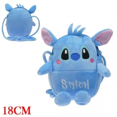 Lilo and Stitch Cosplay Anime Plush Backpack Bag