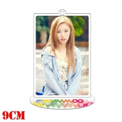 Korean Star Mamamoo Anime Double Sided Acrylic Standing Decoration Keychain