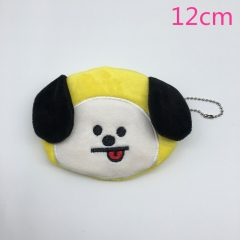 K-POP BTS Bulletproof Boy Cosplay Cartoon For Gift Doll Anime Plush Purse Pendant