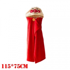 Anpanman Cartoon Cloak Red Cosplay Costume Anime Blanket