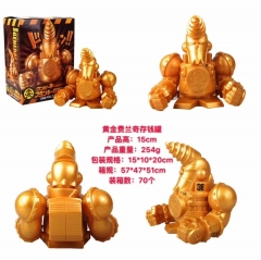 One Piece Character Franky Gloden Money Box/ Money Pot  Anime Figure Toy 15cm