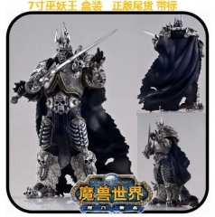 World of Warcraft Arthas Menethil Cosplay Collection Gift Model Toy Anime Action Figure