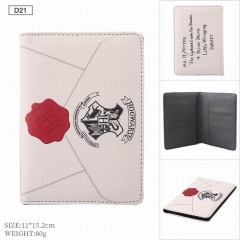 Harry Potter Movie Cosplay Folding ID Card Wallet Anime Passport Cover