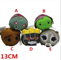 Marvel Comics Guardians of the Galaxy Movie Plush Doll Anime Plush Toys Keychains