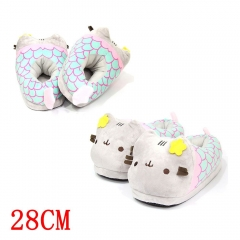 Pusheen the Cat Cartoon Indoors For Adult Anime Plush Slipper