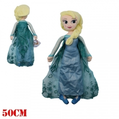 Frozen Movie ELSA Cosplay Cartoon For Gift Doll Anime Plush Toy