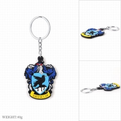 Harry Potter Ravenclaw Movie Cosplay Cartoon Keyring Soft Plastic Decoration Pendant Anime Keychain (Opp Bag)