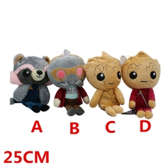 Marvel Comics Guardians of the Galaxy Movie Plush Doll Anime Plush Toys