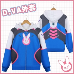 Overwatch DVA Cartoon Sweatshirt Wholesale Cosplay Anime Hoodie