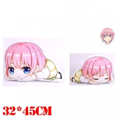 The Quintessential Quintuplets Nakano Ichika Plush Stuffed Bolster Doll Kawaii Anime Pillow
