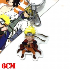 Naruto Uzumaki Naruto Cartoon Pendant Key Ring Anime Acrylic Keychain
