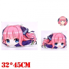 The Quintessential Quintuplets Nakano Nino Plush Stuffed Bolster Doll Kawaii Anime Pillow