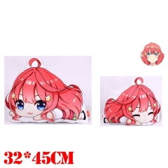 The Quintessential Quintuplets Nakano Itsuki Plush Stuffed Bolster Doll Kawaii Anime Pillow